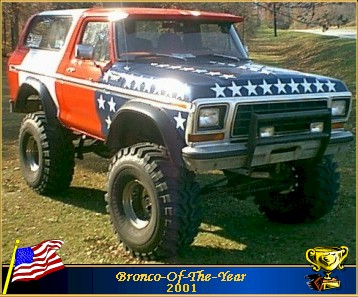 Bronco of the year for 2001 88cb84b60ef