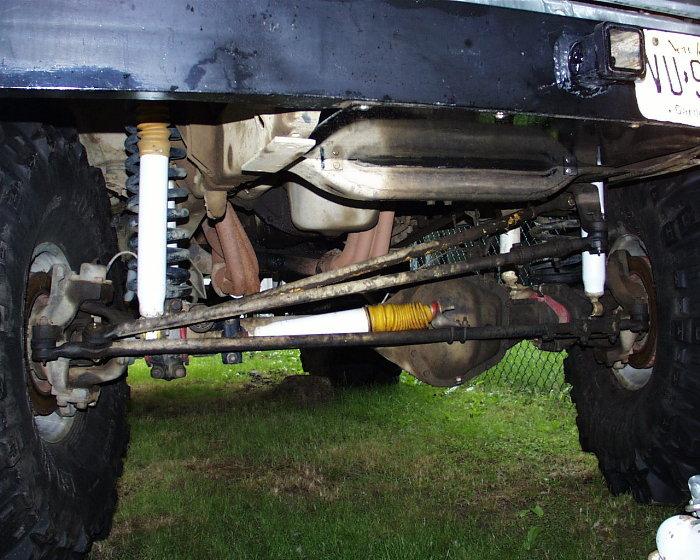 Bronco Dana 60 Conversion