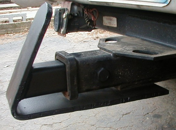 Trailer Hitch Skid Plate